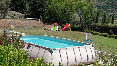 Pool 7,5x4m shared with other villa