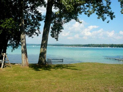 Photo for Torch Lake Family Cottage with Beautiful Sunrise Views!