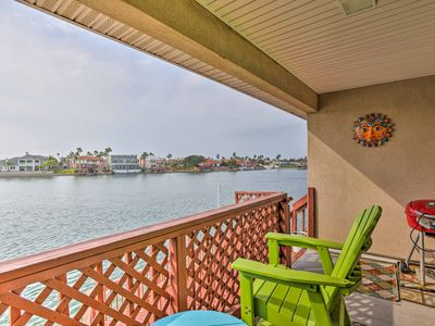 Photo for Waterfront Corpus Christi Condo w/ Deck & Dock!