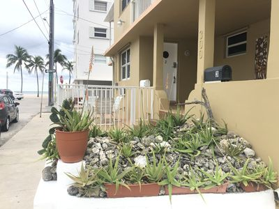 Photo for Beachfront 1 Bdrm/parking/patio