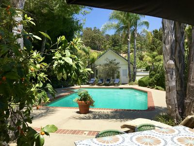 Photo for Fallbrook Luxury Guesthouse w/pool views