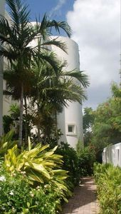This is a Private Villa with Lush Troipical Landscape