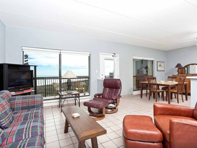 Photo for Saida I 602 - Beachfront Condo, Private Balcony, Tennis Courts, Oceanfront Swimming Pools, Hot Tubs