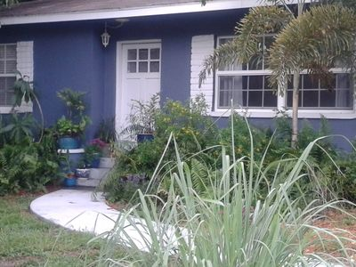 Photo for Blueberry House..One mile from Dunedin!!  Includes Honeymoon Island Park Pass