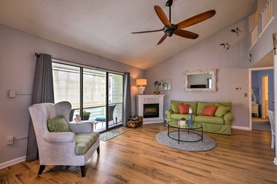 A blissful beach retreat awaits you at this St Augustine vacation rental condo.