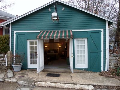 Photo for Texaco Bungalette - Adorable, Unique Queen Studio on the Historic Loop, 3 Blocks from Downtown