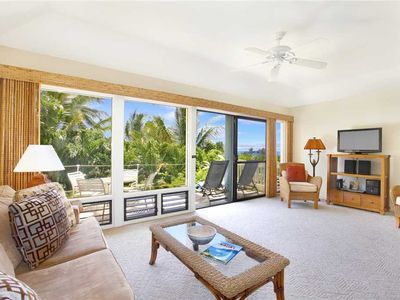 """Photo for Poipu Newly Remodeled Ground Floor """"A/C Bedroom"""" *Manualoha 606*"""