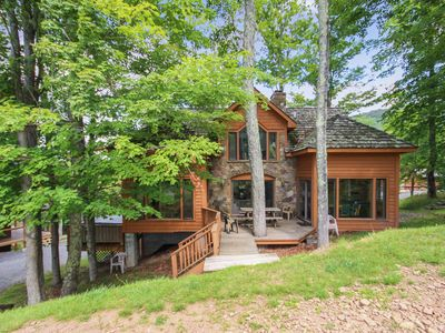 Photo for Robyn's Nest is a beautiful home situated slopeside to Salamander Ski Trail
