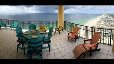 Photo for Large 2650 Sq. Ft. West Corner Unit***Amazing Beach & Sunset View***