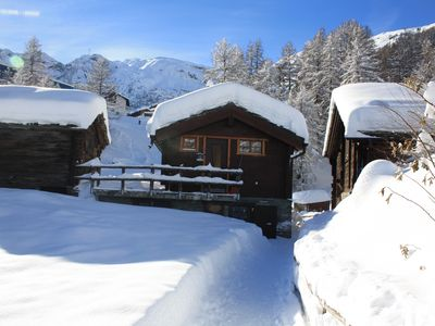 Photo for cozy single family house, ski in & ski out, next to winter hiking pathes
