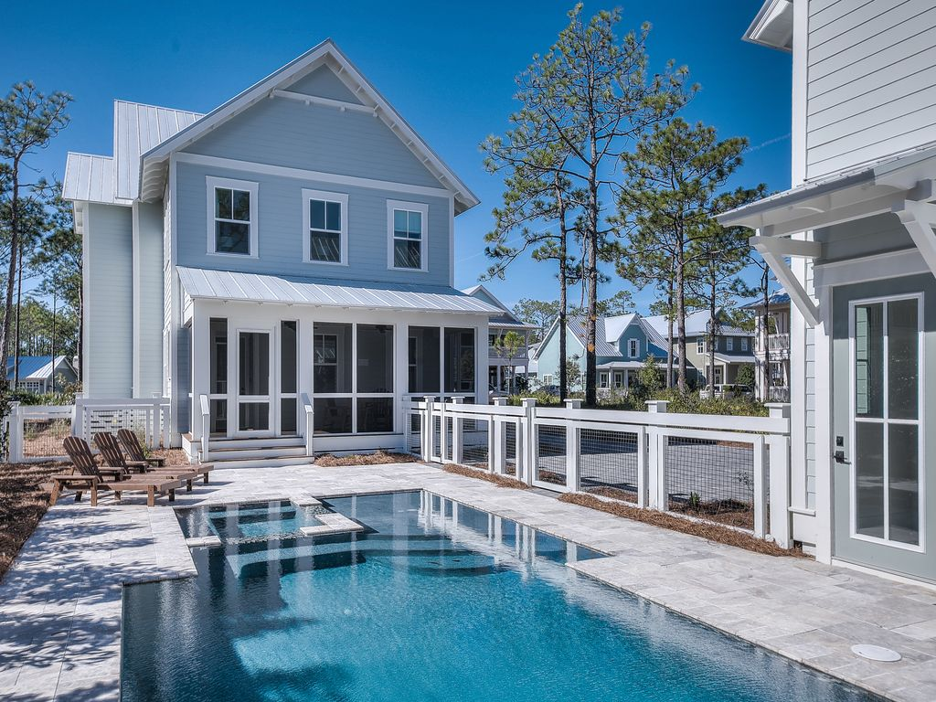 39 sunny side up 39 gorgeous new construction h vrbo for Virtual pool builder