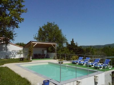 Photo for PROMO - NEW HOUSE with SWIMMING POOL close to Vallon Pont d'Arc