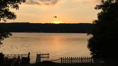 Photo for Panoramic Keuka Lake Views And Breathtaking Sunsets!