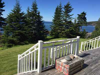 Photo for Bold Oceanfront Cape Style Home On the Bay of Fundy