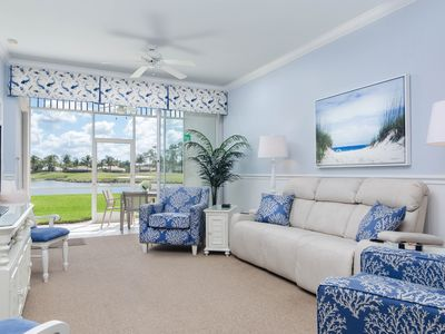 Photo for SEAGRAPE at Greenlinks - Best View in Lely, Renovated Coastal Golf Villa!