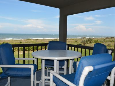 Photo for Ocean Front Condo W/private Beach Access & Minutes From Downtown St. Augustine