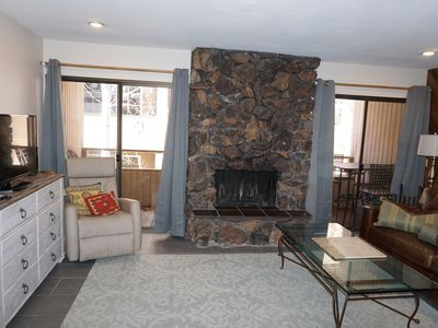 Photo for Nicely Updated 1BD Warm Springs - walk to lifts