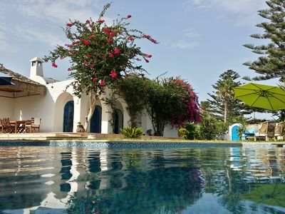 Photo for near Hammamet, Maamoura, Villa, not overlooked, swimming pool and large garden