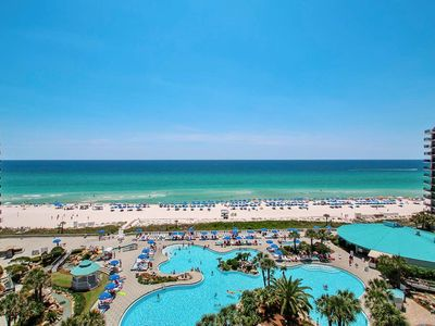Photo for BEACHFRONT! Amenities GALORE!! FREE ACTIVITIES EACH DAY! POOLS, BEACH & FUN!