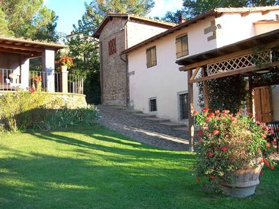 Photo for Wonderful private villa for 10 guests with WIFI, private pool, TV, pets allowed and parking