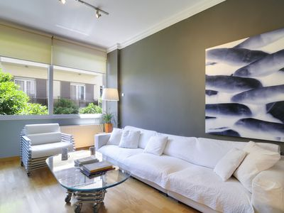 Photo for Mets Eclectic Flat with Private Lush Terrace