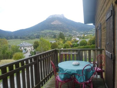 Photo for Charming mountain chalet in the Chartreuse regional park