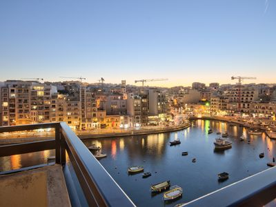 Photo for Spinola Bay Seafront Duplex Penthouse