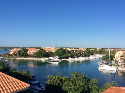 Photo for Spacious Ocean and Marina view penthouse with private rooftop terrace