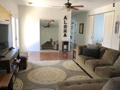 Photo for Spacious, Private, Cool AC! 3/2 sunset beach neighborhood. Short walk to beach!
