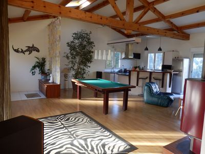 Photo for atypical villa of 120 m2 large living room with two bedroom