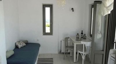 Photo for Sea View Paros Apartment | Deluxe Residence | 2 BDR | Santa Maria
