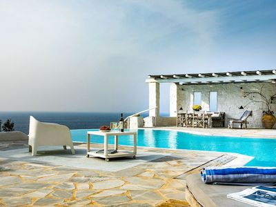 Photo for Luxury Villa with Infinity Pool for memorable moments in Mykonos