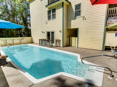 Photo for Coral Reef Treat | 1320 ft from the Beach | Dog Friendly, Private Pool, Hot Tub