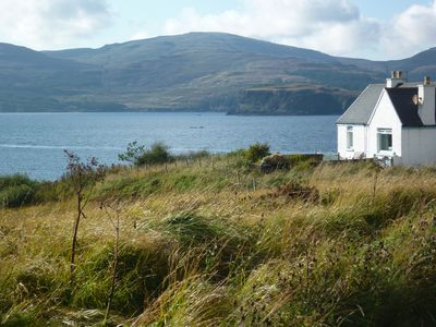 Photo for Tranquil Cottage With Loch Views To Macleod's Tables From £350 A Week