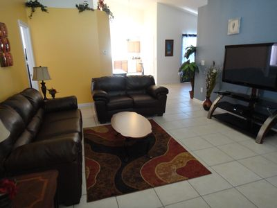 Photo for Disney Area Luxury Villa in Gated Aviana Resort, Pool, Spa, Gameroom, Wi-Fi