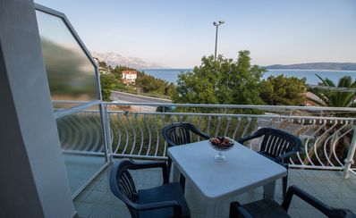 Photo for Apartment (2+2) with balcony and sea view