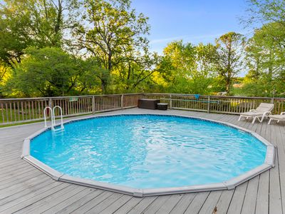 Photo for NEW LISTING! Charming house w/private pool & fenced yard in quiet neighborhood