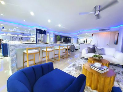 Photo for 2402 Maisons- One of the Nicest Condos in MB. PENTHOUSE & Full Beach Views!!
