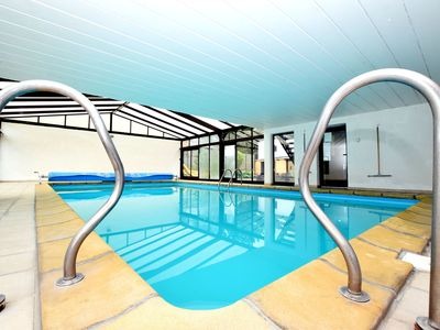 Photo for Cozy Holiday Home in Somme-Leuze with Private Swimming Pool