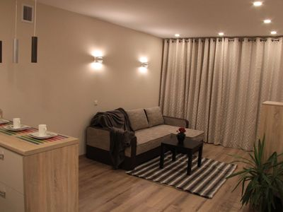 Photo for Brand new 50m2 Apartment in Vilnius with Parking, Washing machine and Dishwasher