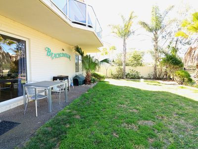 Photo for Beachcomber Apartment (2 Bedroom) Large Fenced Yard - 5+nights