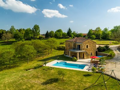 Photo for Beautiful villa near Mazeyrolles (4 km) with phenomenal view