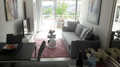 Photo for Apartment La Luna with balcony, heated. Pool, panoramic views, top equipment!