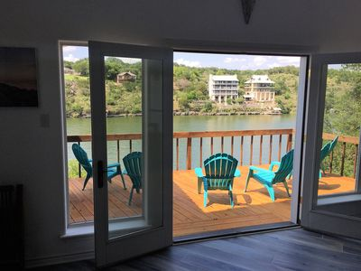 Photo for Breathtaking Lakefront Home on Lake Marble Falls, next to LBJ & Lake Travis