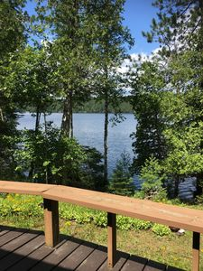 Or perhaps remain on the deck and enjoy the view.