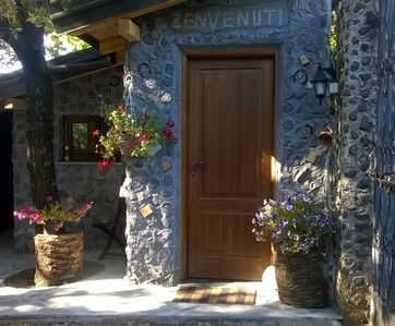 Photo for Lava stone chalet in the nature park Etna