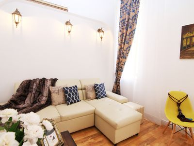 Photo for Unusually spacious, luxury two bedroom apartment in city's heart Old Town.