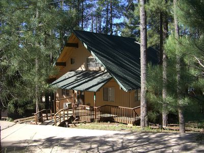 Beautiful cabin in the tall pines. Come enjoy our hideaway.