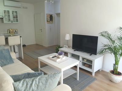 Photo for Happy Apartment ( near bus/train station)