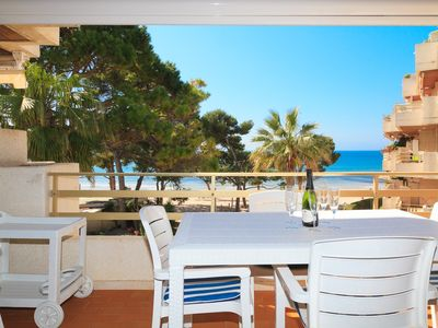 Photo for APARTMENT IN PLAYAMERO RESIDENCE, CENTRAL AND QUIET WITH DIRECT ACCESS TO BEACH AND SEA VIEW TERRACE S307-256 PLAYAMERO